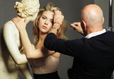 Гаррен на съемке кампании для Dolce & Gabbana